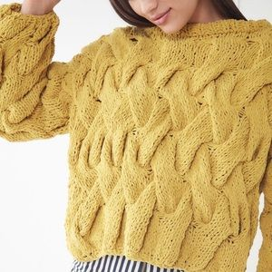 UO Hand Knitted Chunky Sweater